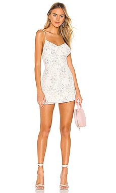 Eilena Fit & Flare Dress superdown $68 BEST SELLER