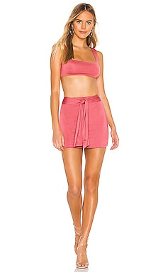 Charlene Tie Skirt Set superdown $45