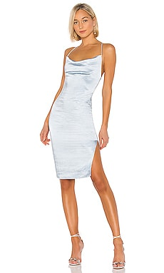 ROBE MIDI DRAPÉE BILLIE superdown $82 BEST SELLER