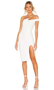 Jillian Asymmetric Midi Dress superdown $88