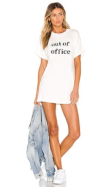 Audrey Vacay Tee Dress superdown $64