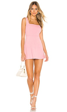 Starla Mini Dress in Pink superdown $68 NEW ARRIVAL