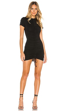 Yasmine Ruched Tie Dress superdown $64 BEST SELLER