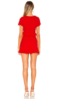 Superdown Mia Ruffle Tie Dress Discount Code