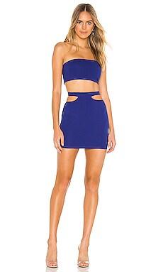 Solana Bandeau Skirt Set superdown $66 НОВОЕ ПОСТУПЛЕНИЕ