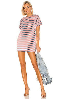 Katrina Stripe Shirt Dress superdown $52