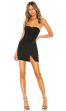 Gabrielle Corset Wrap Dress superdown $64 NEW ARRIVAL
