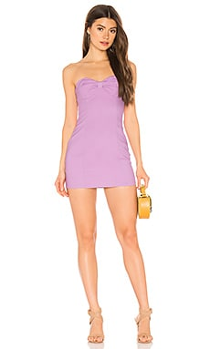 ROBE COURTE VIOLETA superdown $41