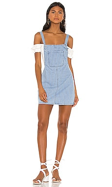 Ida Overall Denim Dress superdown $68