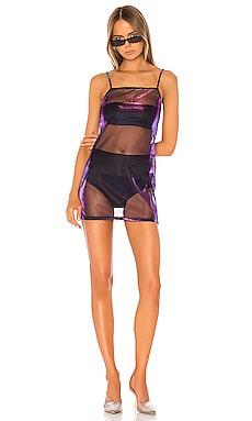 Rocco Iridescent Mini Dress superdown $12 (FINAL SALE)
