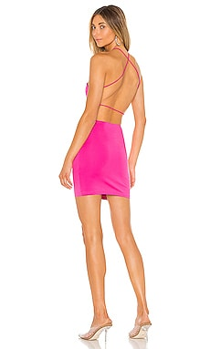 Maisie Strappy Back Dress superdown $64