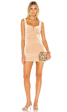 Chiara Plunging Mini Dress superdown $68