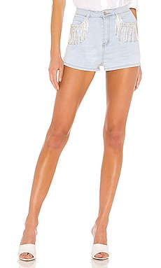 SHORTS DE ESTRÁS DAISY superdown $31