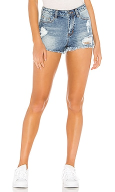 SHORTS DENIM TREY superdown $38