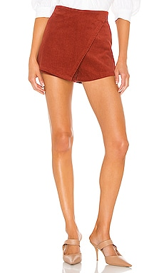 Lana Corduroy Mini Skort superdown $56