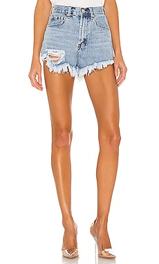 Rooney Distressed Denim Short superdown $54 NOVEDADES