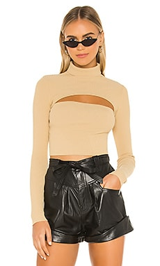 Tasha Cut Out Sweater superdown $60