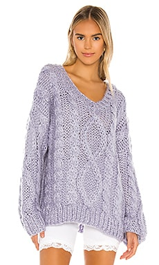 Roxie Cable Knit Sweater superdown $88 NEW ARRIVAL