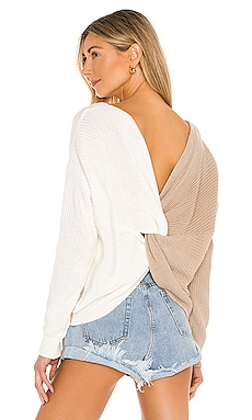 Trish Knot Sweater superdown $68 NUEVO