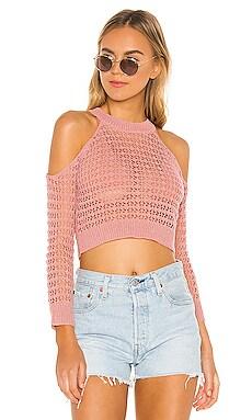 Charlotte Open Shoulder Sweater superdown $17 (FINAL SALE)