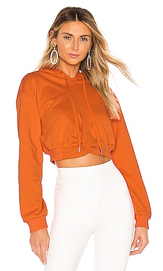Candice Cropped Hoodie superdown $34