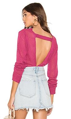 Spencer Open Back Sweater superdown $20 (FINAL SALE)