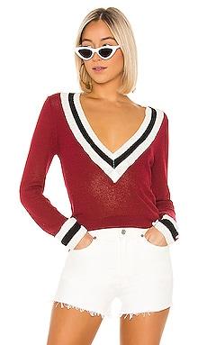 Bobbie V Neck Sweater superdown $21 (FINAL SALE)