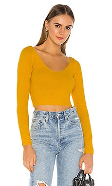 Kendra Crop Sweater Top superdown $31