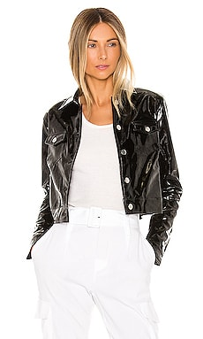 Nicki Cropped Moto Jacket superdown $72