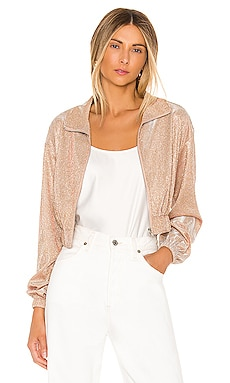 Brianna Metallic Jacket superdown $78