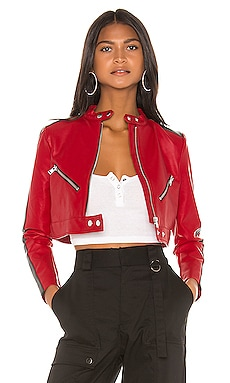 Thandi Cropped Racer Jacket superdown $88
