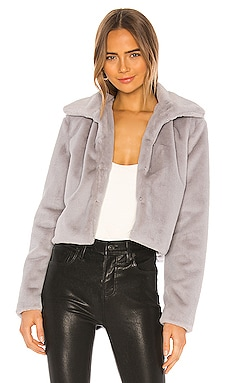 Tianna Faux Fur Jacket superdown $88