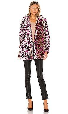 Taj Faux Fur Coat superdown $78 (FINAL SALE)