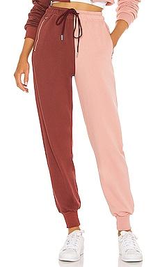 Renna Two Tone Sweatpants superdown $64