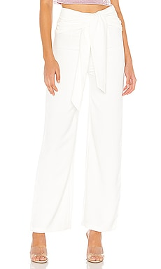 Jordayn Tie Waist Pants superdown $60