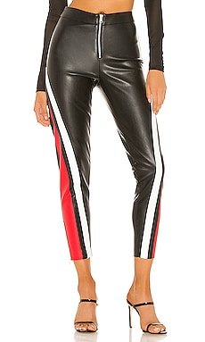 Janica Faux Leather Pant superdown $74