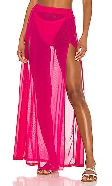 Leilani Mesh Maxi Skirt superdown $40