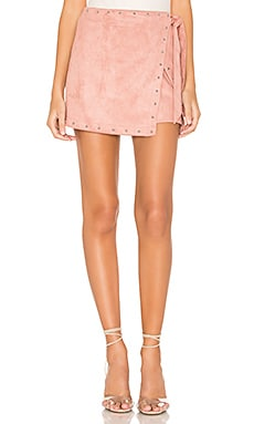 x REVOLVE Coryna Wrap Skirt superdown $45