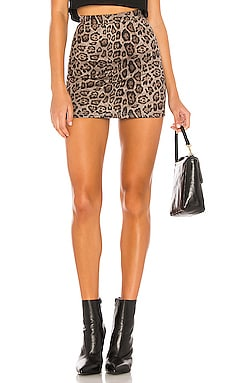 Caressa Mini Skirt superdown $54
