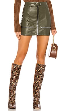 Janice Moto Mini Skirt superdown $58 NOVEDADES