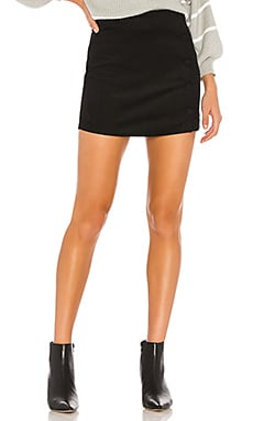 Dylan Corduroy Mini Skirt superdown $58