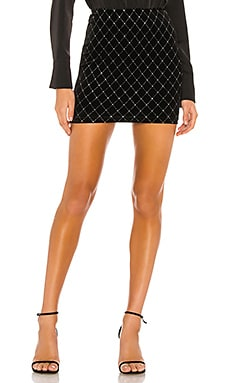 Odyssa Mini Skirt superdown $56