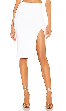 Catie Fitted Midi Skirt superdown $58