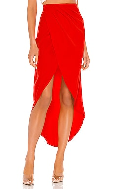 Arielle Slit Maxi Skirt superdown $58 BEST SELLER