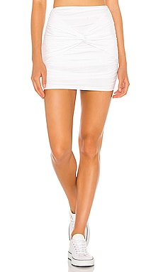 Kandice Twist Mini Skirt superdown $56