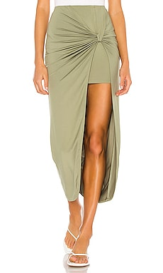 Marie Midi Skirt superdown $58