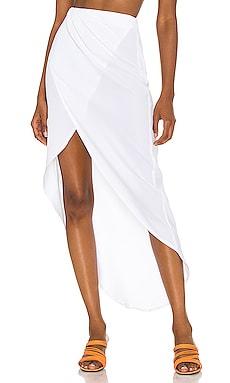 Arielle Slit Maxi Skirt superdown $58