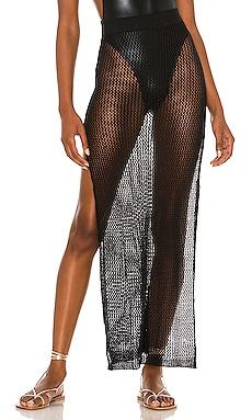 Yael Knit Maxi Skirt superdown $54