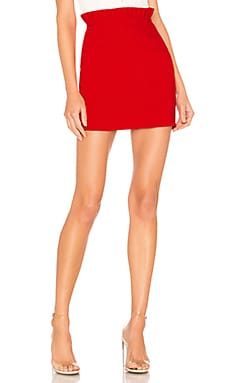 Norma Ruffle Mini Skirt superdown $34