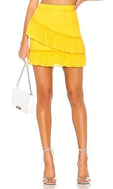 Donnie Frill Mini Skirt superdown $52
